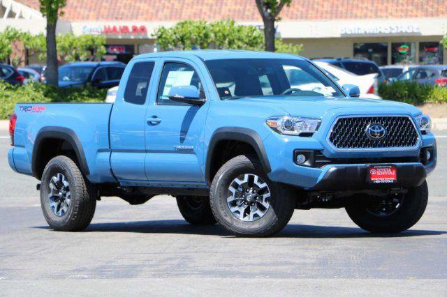 Blue Toyota Tacoma >> New 2019 Toyota Tacoma For Sale Near Menlo Park Ca