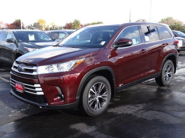 Santa Cruz Toyota >> New 2019 Toyota Highlander Hybrid For Sale Near Santa Cruz Ca